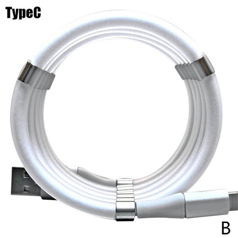 Magnetic Data Charging Cable 3 in 1 C Storage Suitable For Android Apple  type-c