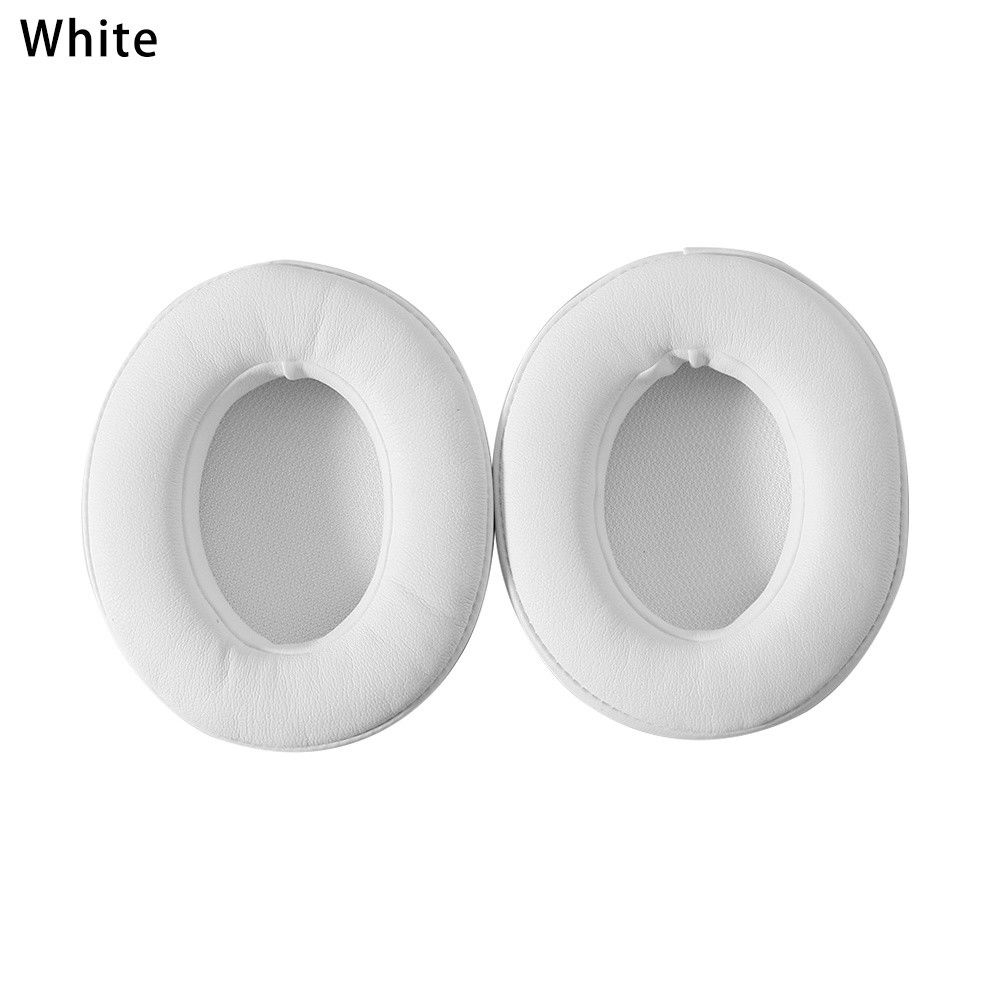 1 Pair Replacement Ear Pads Foam Cushion for Beats Studio 2.0 Wireless Headset white