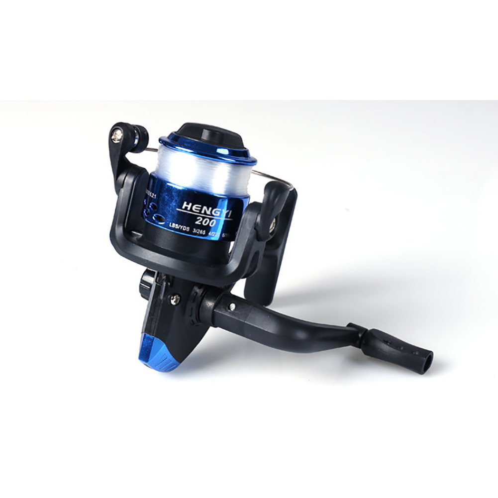 Fishing Wheel Spinning Reel Lure Vessel Bait Casting Fishing Trolling Spinning with Line  200 type belt line