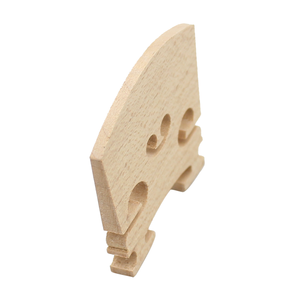 Violin Bridge Maple Wood Material for 4/4 3/4 1/2 1/4 1/8 Size Violin Accessory Wood color_1/2
