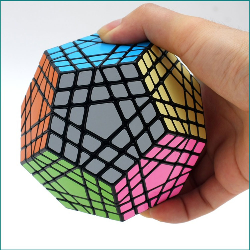 5*5 Gigaminx Tube Five Layers Dodecahedron Puzzle Cubes Brain Teaser Magic Cube