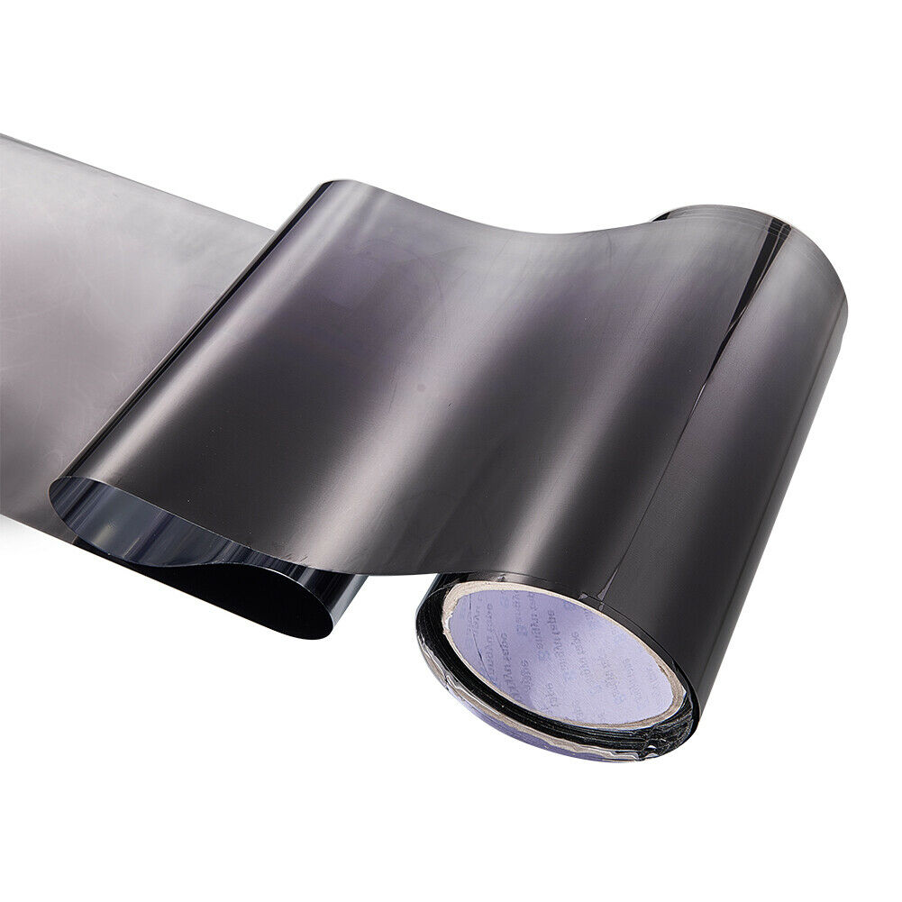 Car Front Windshield Protect Shade DIY Sticker Window Sun Visor Strip Tint Film  black