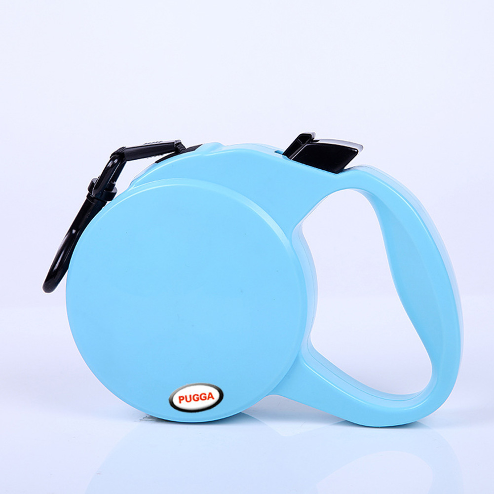 Retractable Pet Leash for Outdoor Large Medium Small Dogs Walking Leads Sky blue_S