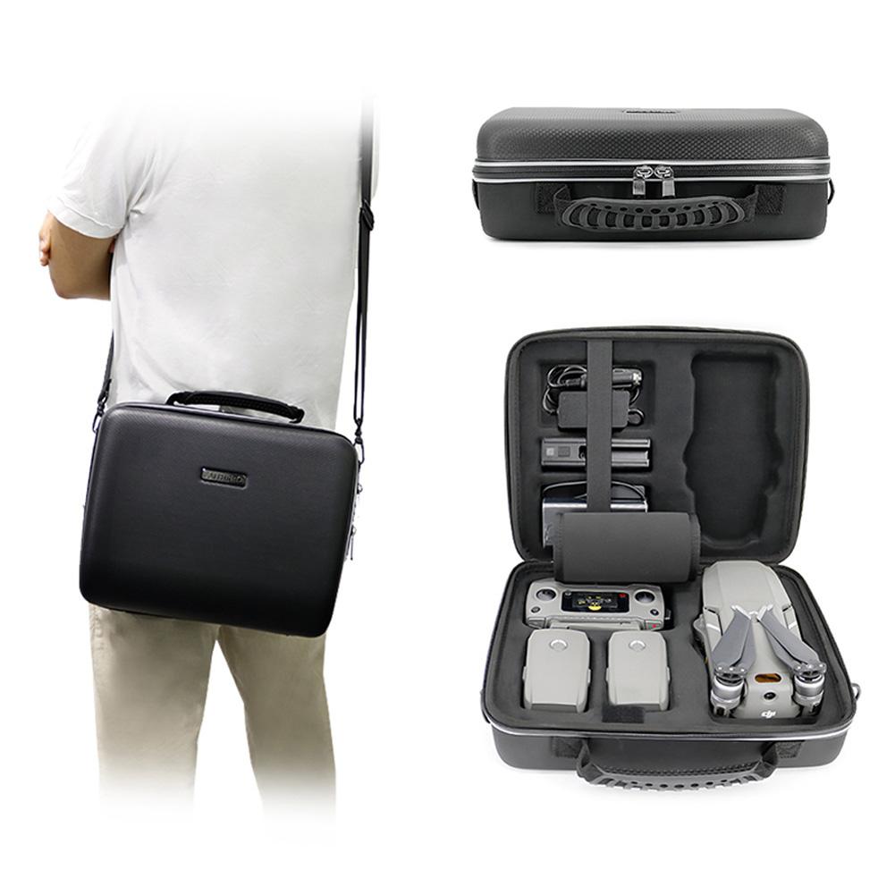 Mavic 2 Pro/Zoom PU EVA Carry Case Handbag for DJI Mavic 2 Drone Storage Bag Box Body Accessories black