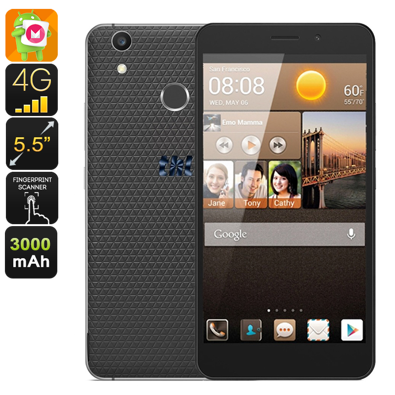 THL T9 Plus Android Smartphone (Black)