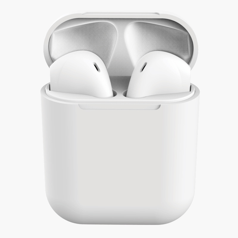 TWS Bluetooth Earphone 5.0 Wireless Headphones Sport Earbuds Headset with Mic for iPhone Xiaomi  white