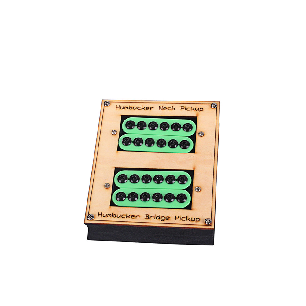 Ceramic Magnets Green Dual Pickup for Gibson Les Paul / SG Electric Guitar Music Instrument Accessories