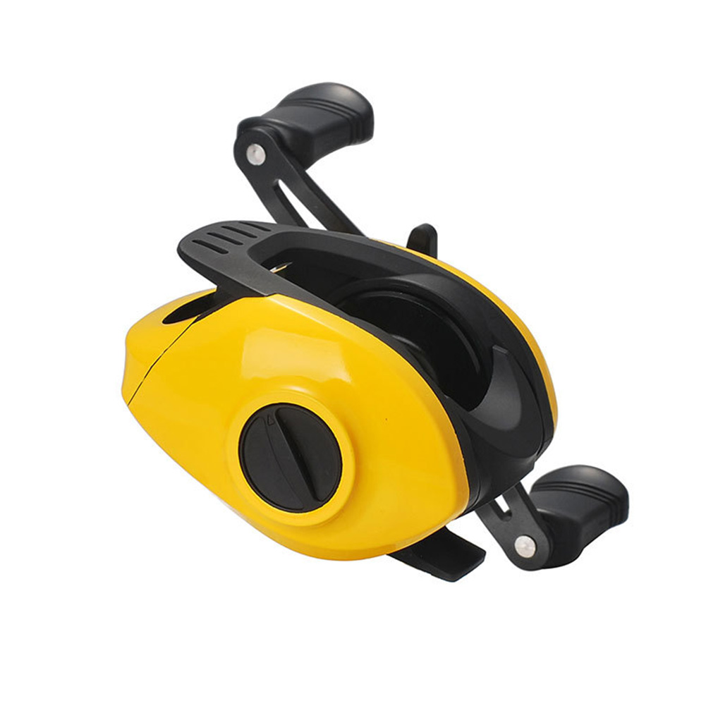 Yellow Fishing Wheel Low-Profile Reel Conversion Wheel Bahau Long Shot Wheel Small yellow wheel left hand