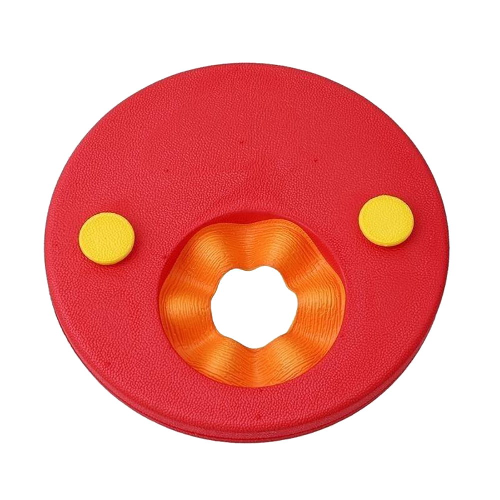 Kids Float Discs Swim Arm Band Set Baby Learn-to-Swim Swimming Float Ring red