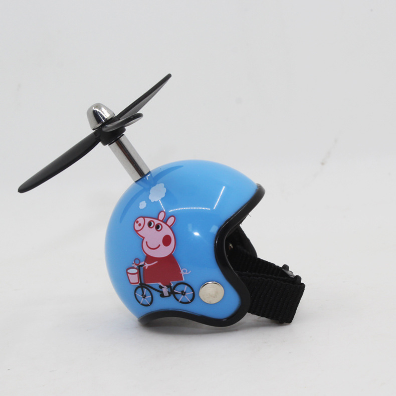 Motorcycle Helmets Keyring + Bamboo Dragonfly Safety Helmet Car Keychain Chain Gift  #18