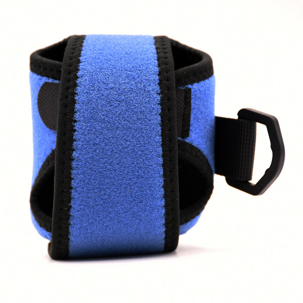Low-Profile Reel Bag Drum Wheel Bag Lure Bag Fishing Reel Bag blue