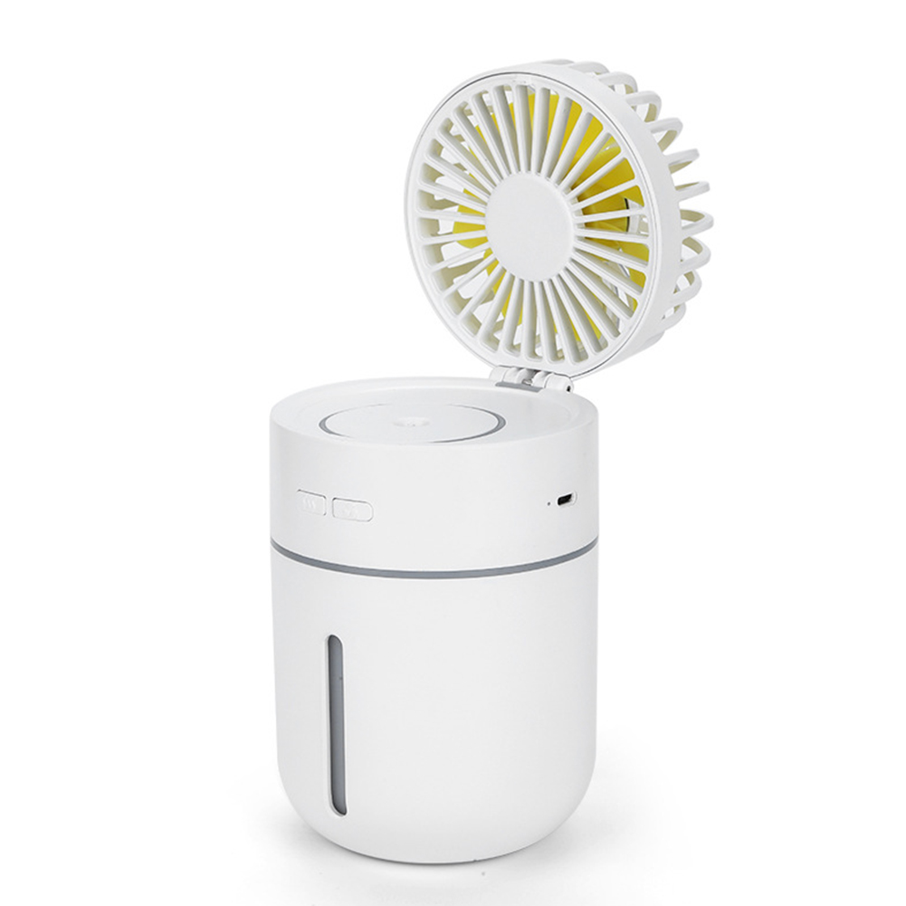 400ml Portable USB Charging Mini Vehicle-mounted Air Humidifier Fan Diffuser