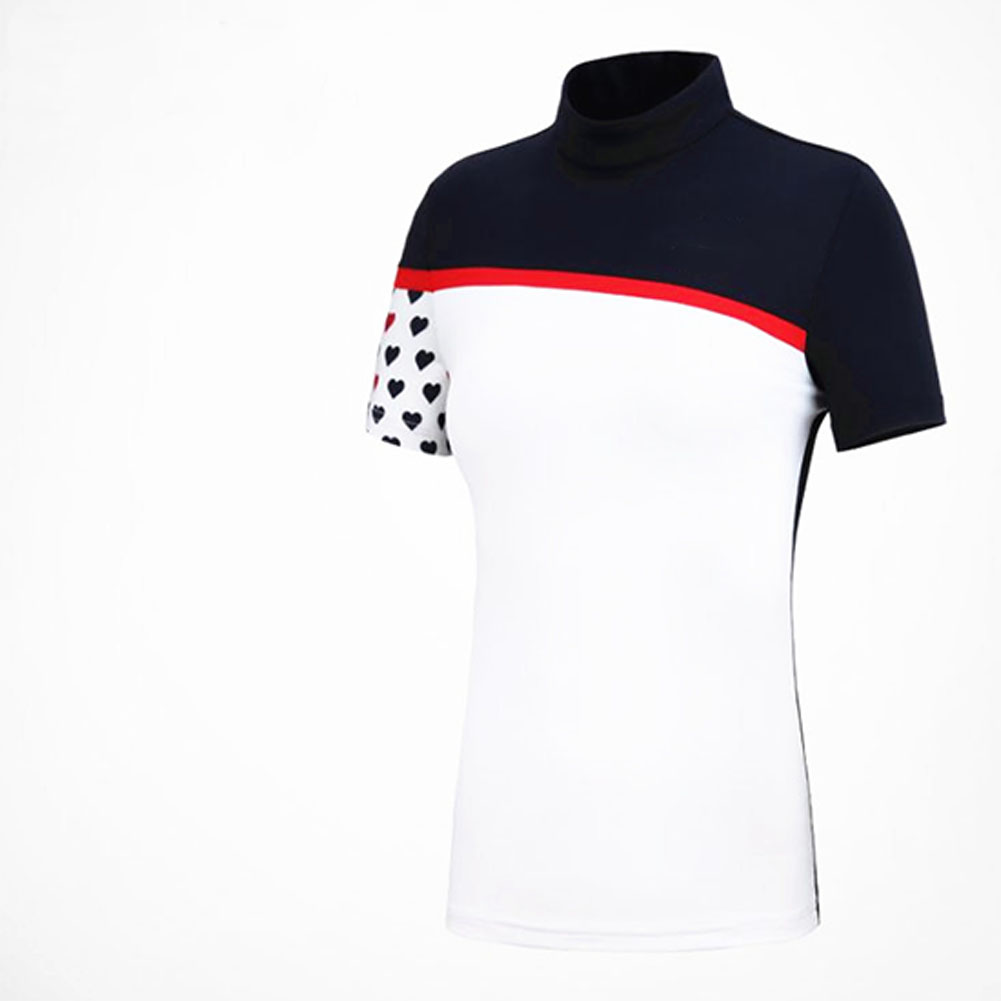 Golf Clothes Female Short Sleeve T-shirt Spring Summer Women Top and Skirt Sport Suit YF176 top_S