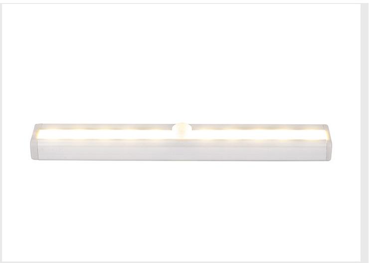 Intelligent Body Induction USB Charging Night Light for Corridor Cabinet Wardrobe Warm White_1A ten light charging