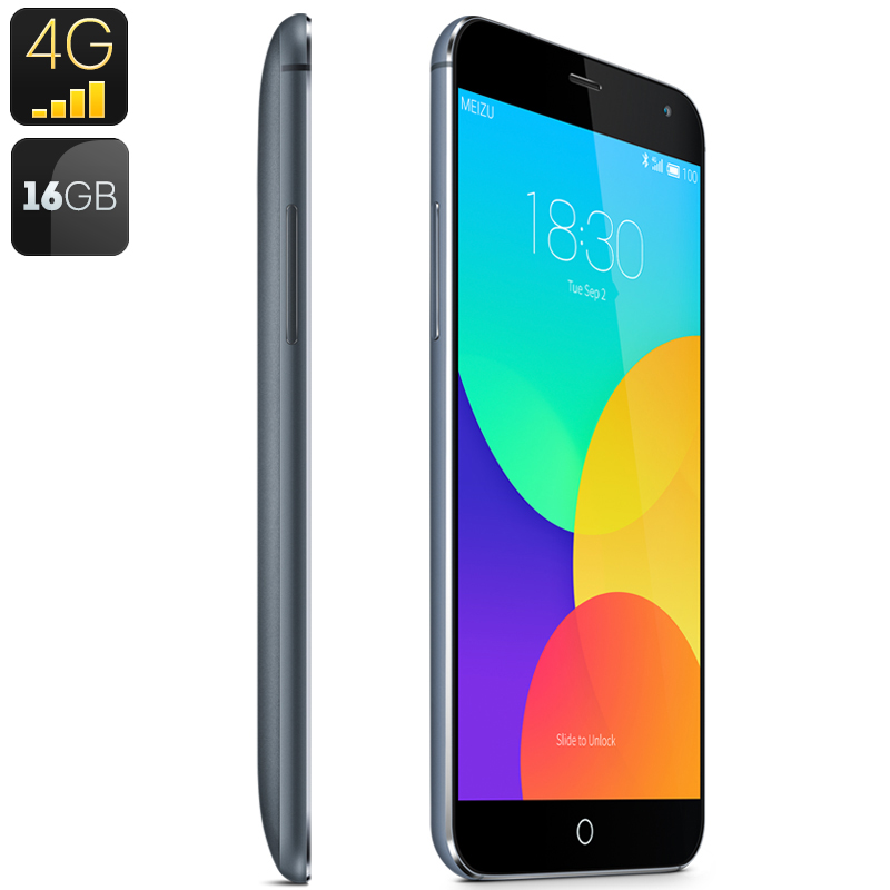 Meizu MX4 4G Smartphone 16GB (Gray)
