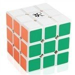 [US Direct] Dayan Zhanchi 5th Generation 3x3 Speed Puzzle Magic Cube 6-Color World Record Competition White Edge