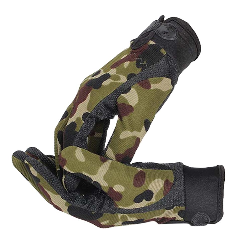 Men Outdoor Sports Fashion Gloves Anti-slip Riding Windproof Gloves