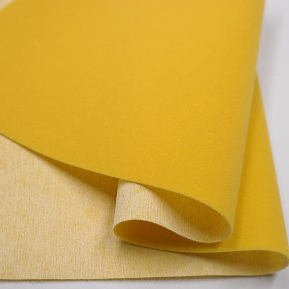 45 * 200cm Self-adhesive Velvet Flock Liner Jewelry Contact Paper Craft Fabric Peel Stick beige
