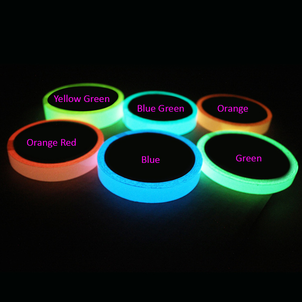 Luminous Tape Luminous Strip Stage Warning Light Tape Fluorescent Sticker