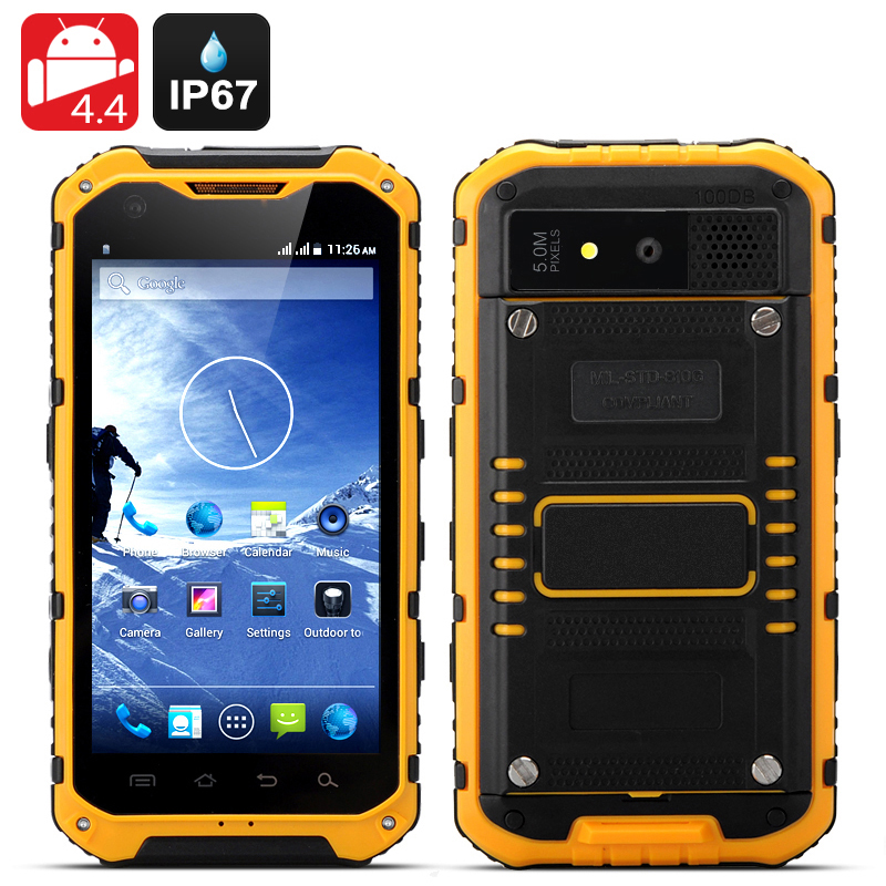 Android Rugged Smartphone 'Ox II' (Yellow)