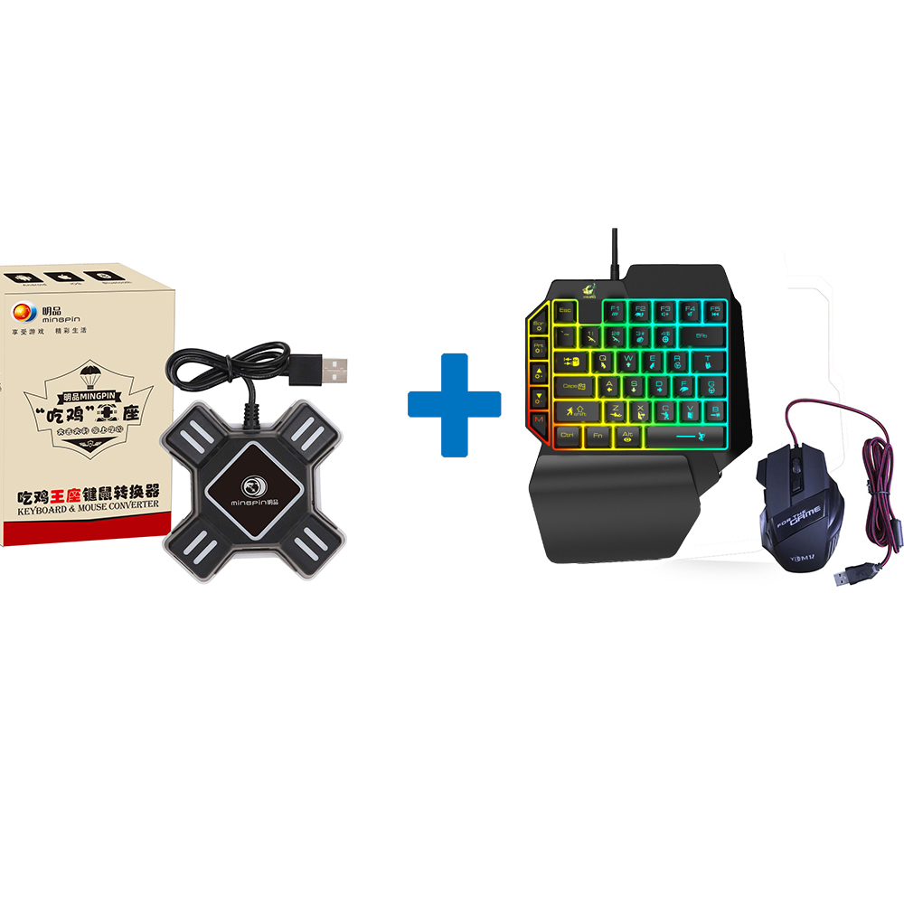 Kmix Throne Mouse Keyboard Converter For Pubg Game Android iOS Mobile Phone Converter set