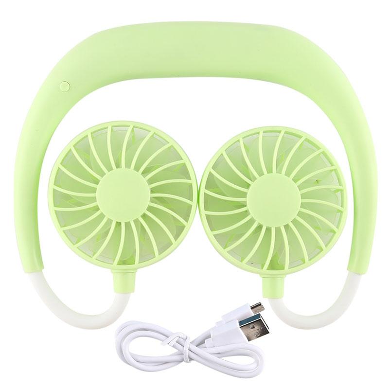Portable Sports Halter Fan green
