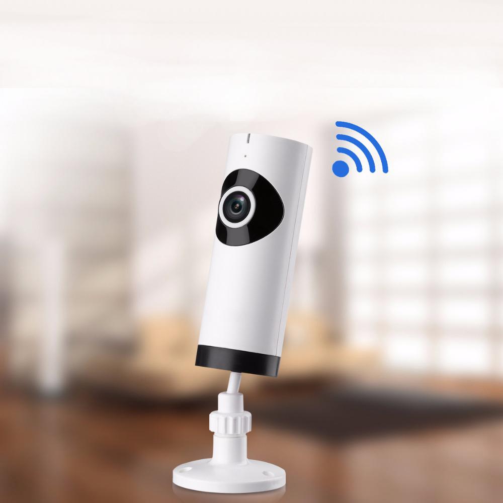 Pen Shaped Smart Panoramic Camera WIFI Operation 720P Pixel 360 Degree Wireless Camera white_US Plug