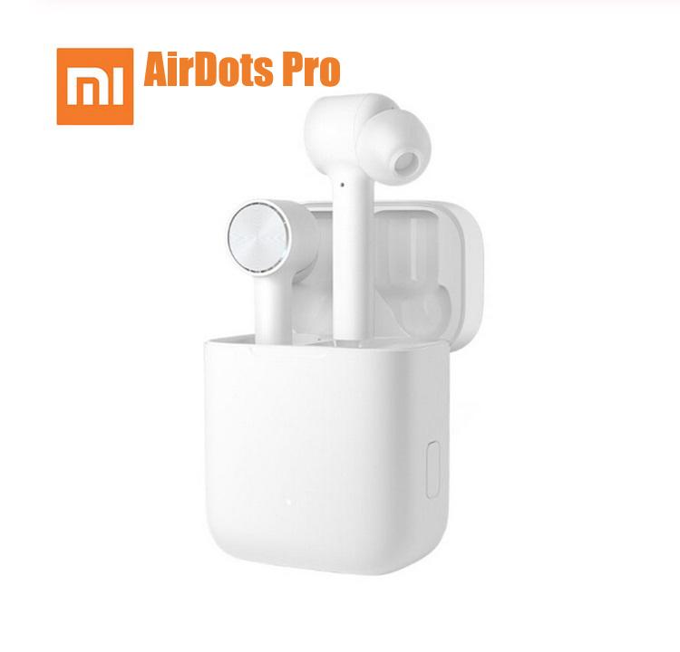 Original XIAOMI Airdots Pro TWS Wireless IPX4 Waterproof Bluetooth Headset Earphone with Mic Stereo white