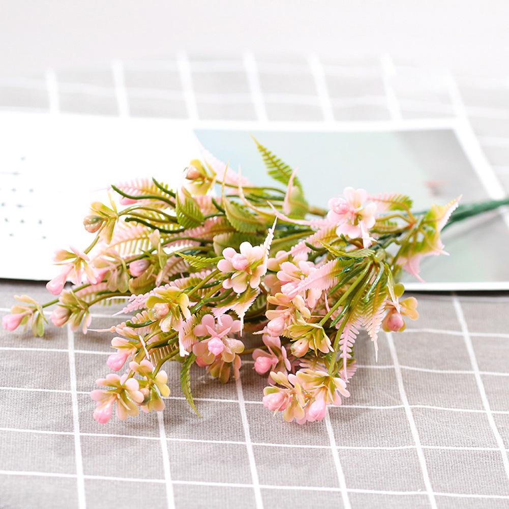 Aglaia Odorata Fruit Artificial Plant Plastic Artificial Flowers Living Room Decoration Arrange Flowers Pink