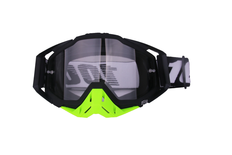 Motocross Goggles Motorcycle Glasses Racing Moto Bike Cycling Gafas Sunglasses  All black + green