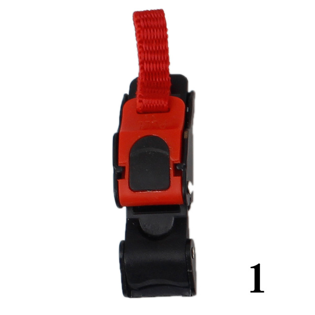 Motorcycle Helmet Buckles Bicycle Helmet Buckles Motor Bike Helmet Chin Strap Flexible Clip #1