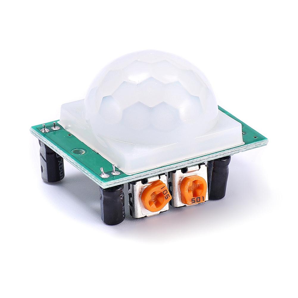 [Indonesia Direct] Body HC-SR501 PIR Sensor Pyroelectric Infrared Module