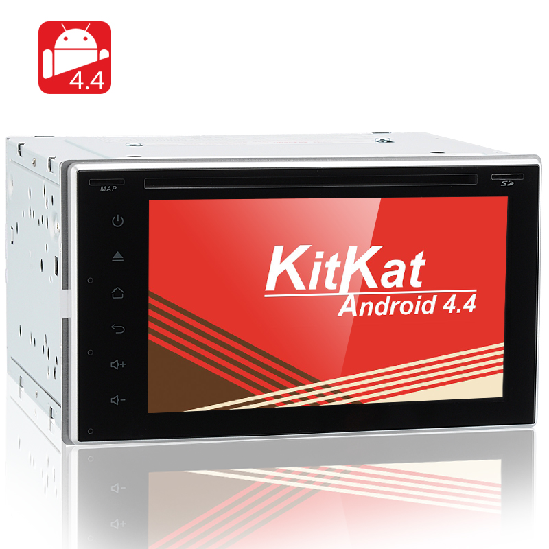 2 DIN Android 4.4 Car DVD System 'Road Rock'