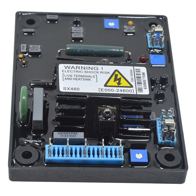 [Indonesia Direct] High Quality Black Automatic AVR SX460 Voltage Regulator for Generator Voltage Regulator SX460