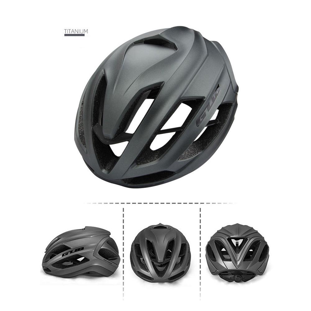 Cycling Helmet Ultralight Breathable Racing MTB Road Bike Helmet Safety Cap Man Women Titanium color_L