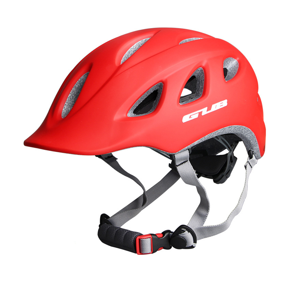 Cycling Helmet Integrally-molded Breathable Women Men MTB Road Bicycle Safety Helmet Light weight MTB Bike Equipment red_One size
