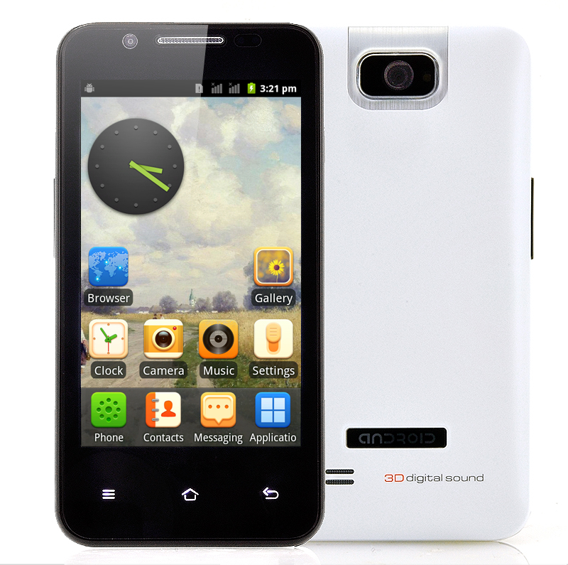 4 Inch Cheap Android Phone - Delta