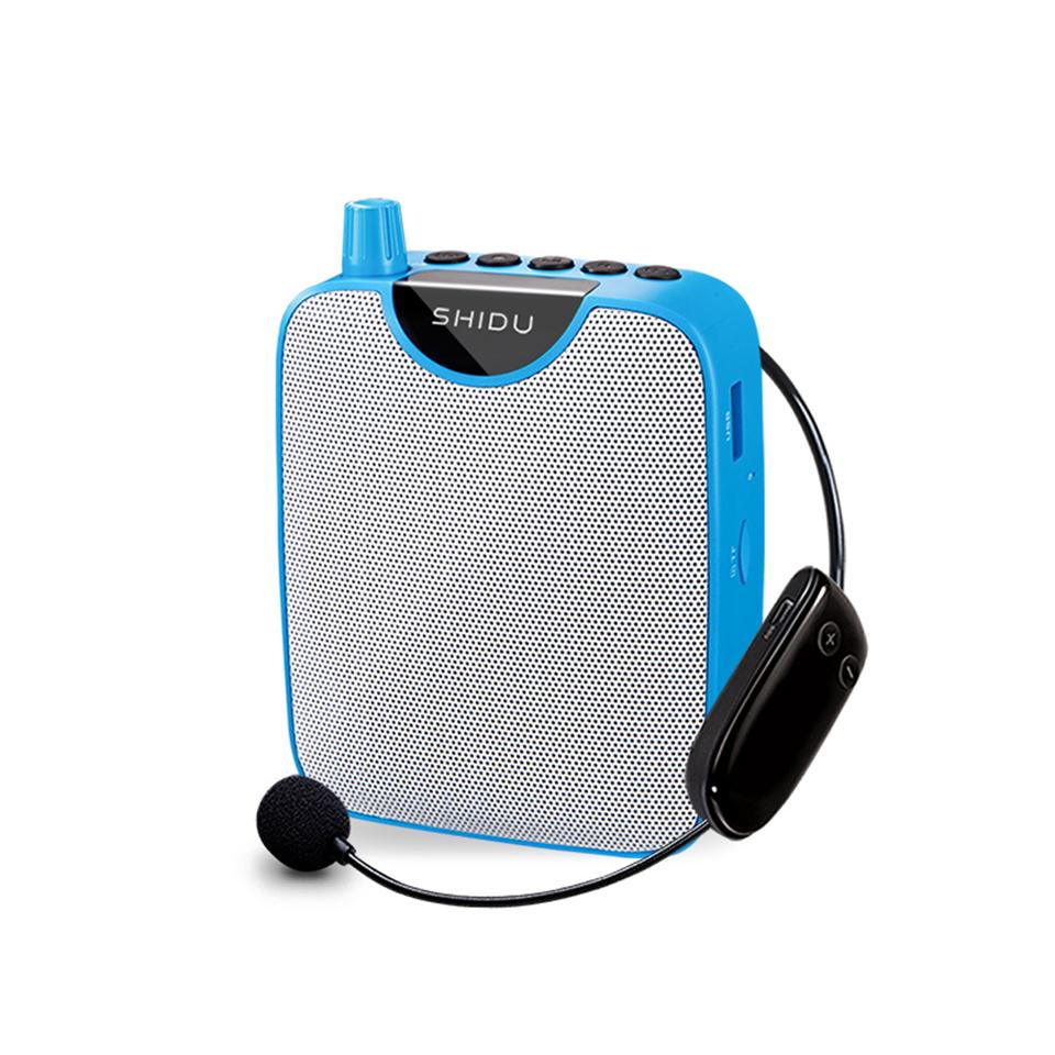 M500 Wireless Loudspeaker High-power Portable Amplifier with Belt blue