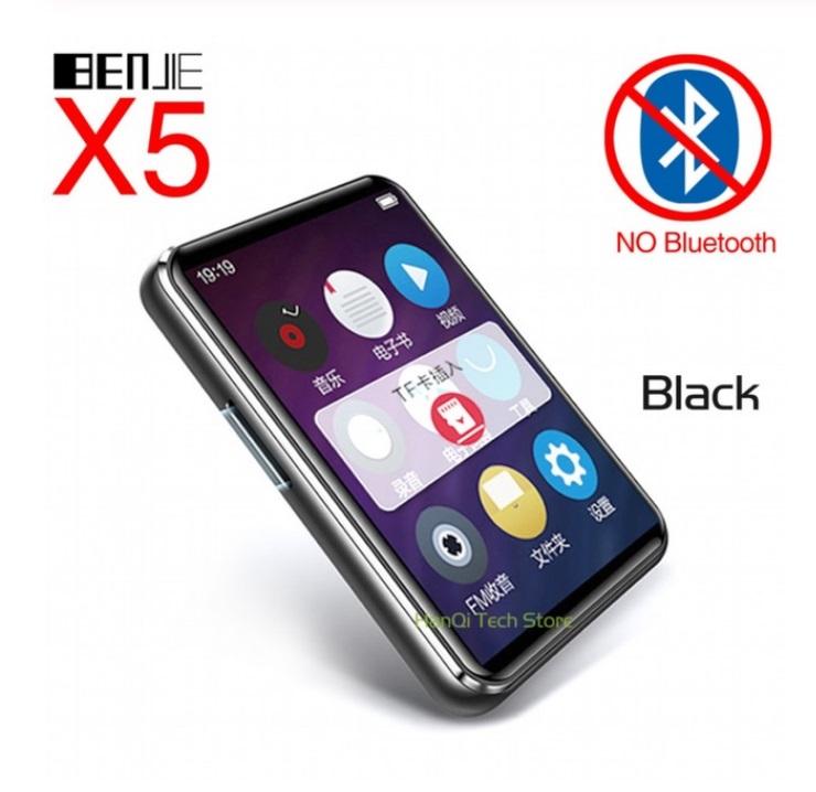 Mini MP3 Player BENJIE X5 Full Screen Bluetooth MP3 Player Student Version Portable MP4 Walkman Music Player  Without Bluetooth version