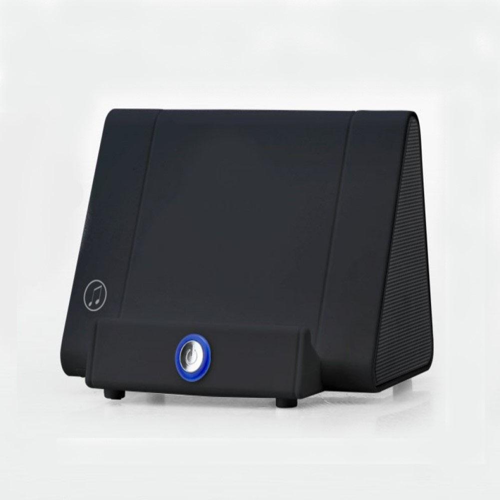 Creative Sensor Amplifier Phone Support Audio Portable Speaker black