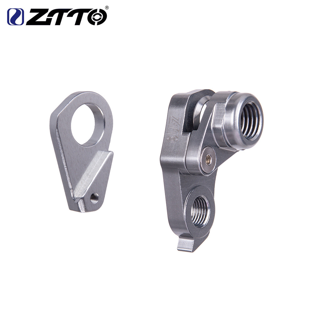 ZTTO CNC Tail Hook for Trance Reign Xtc Slr Adv Shaft 142*12 Silver