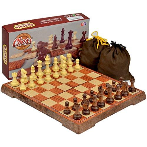 Full Sized Large Magnetic Chess Set - 9.5`