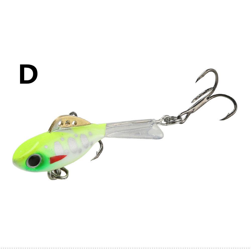 4.5cm/7.5g Dual Slot Lure Bionic Bait for Fishing D _4.5cm 7.5g