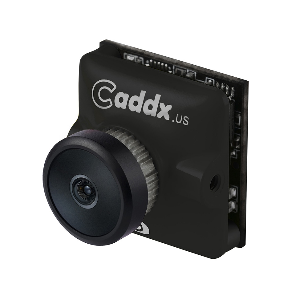 Caddx Turbo Micro SDR2 1/2.8 2.1mm 1200TVL Low Latency WDR 16:9/4:3 FPV Camera for RC Drone black