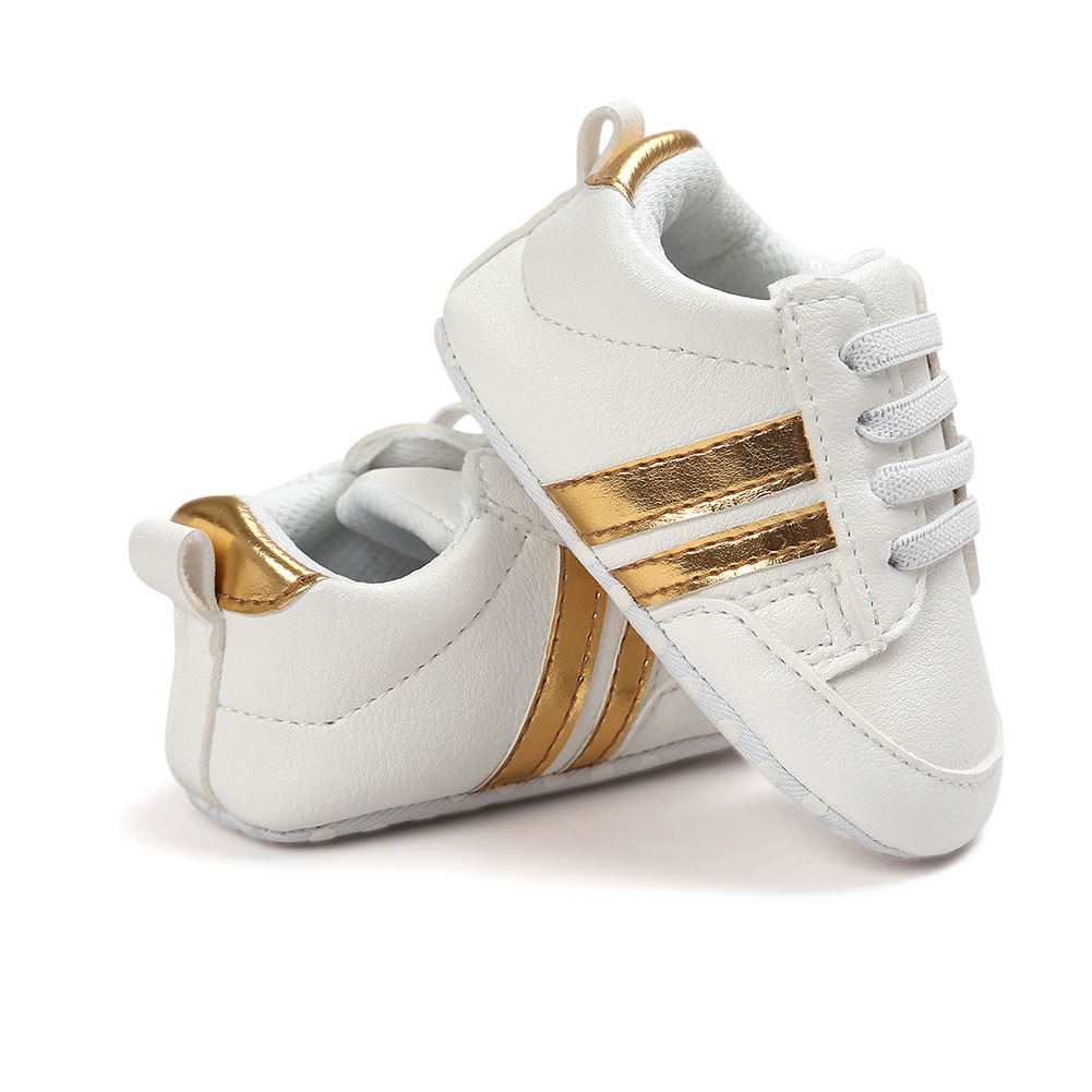 PU Leather Non-slip Infant Sports Shoes