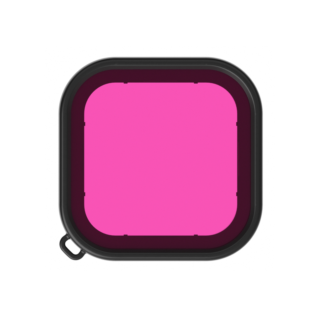 Deep Diving Lens Filters for Gopro Hero 8 Waterproof Housing Case Filter Kit Camera Accessories  purple