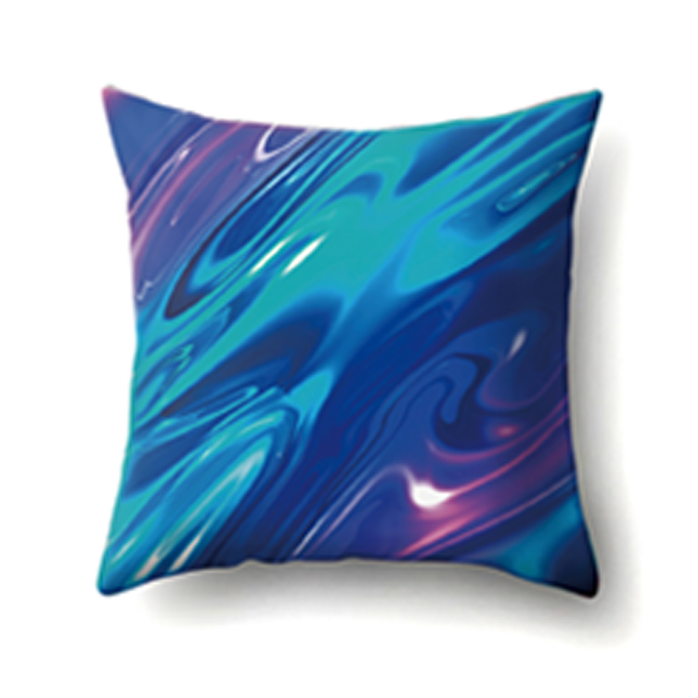 45*45cm Colorful Pillowcase Starry Sky Dazzling Cushion Cover Car Sofa Decor CCA404(5)