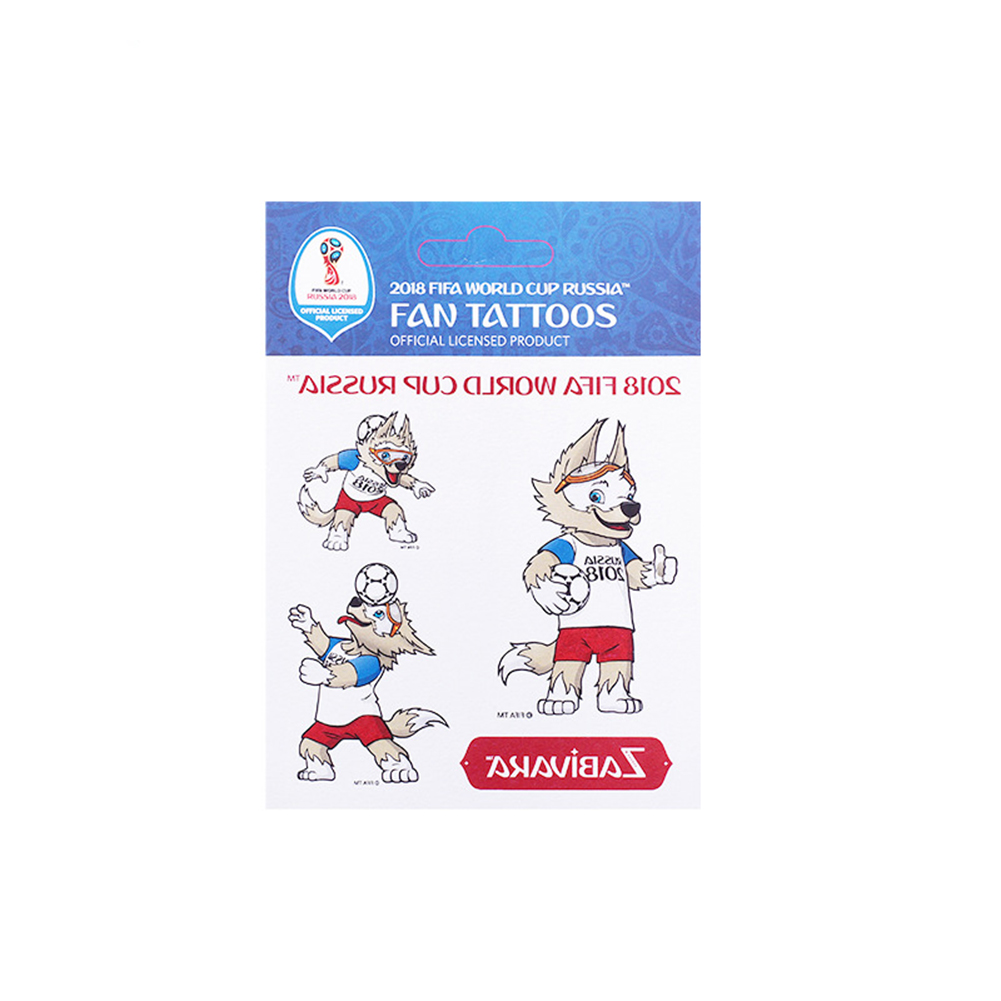 2018 Russia World Cup Temporary Tattoos Sticker Game Face Decor