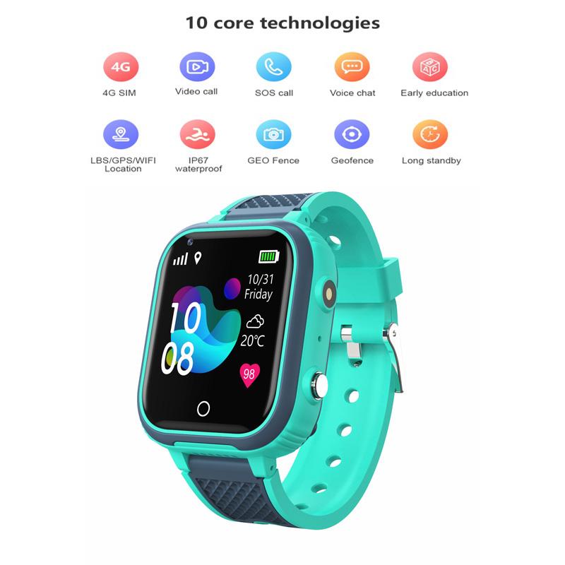 Children's Smart  Phone  Watch 4g Full  Netcom Multifunctional Waterproof Mobile Phone Watch