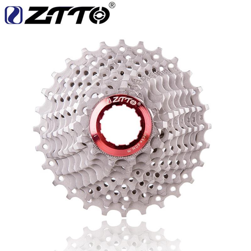 ZTTO Racefiets 9s Freewheel Cassette Tandwiel 11-28 T Compatibel Small Wheel Rear Gear of Bicycle 9S 11-28T